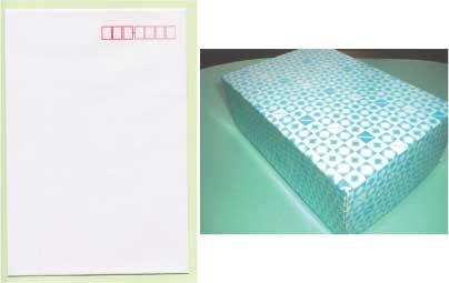 封筒 白封筒 カマス貼 洋1 インクジェット ホワイト 枠入 1000枚 yu0150