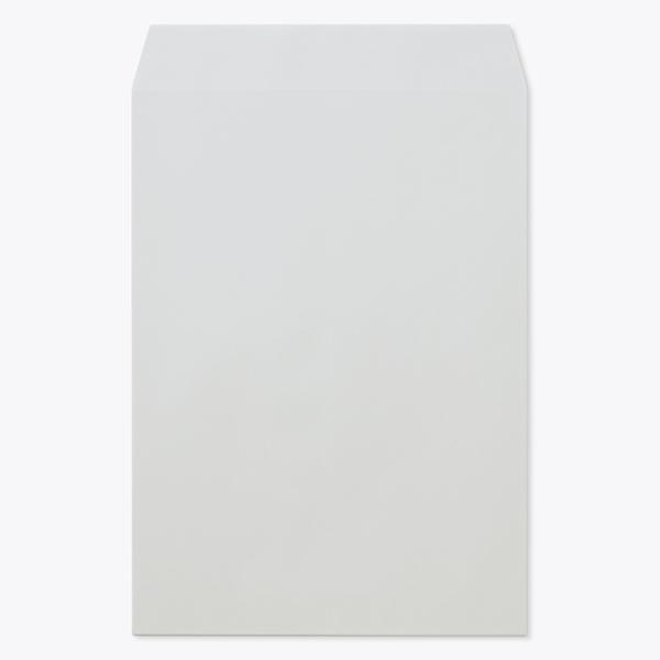 封筒 クラフトカラー封筒 角2 スカイ 100g センター貼 枠なし 1000枚 kc0254
