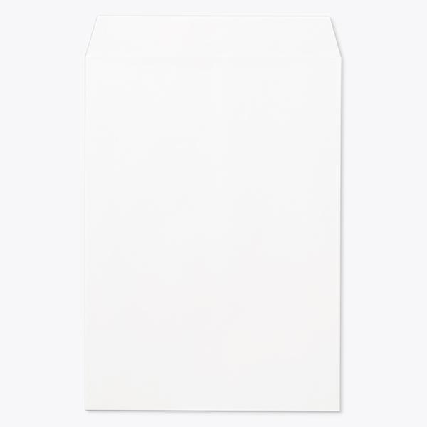 封筒 パステルカラー封筒 角1 パステル ホワイト 100g センター貼 枠なし 1000枚 kp0130