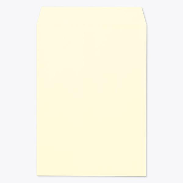 送料無料 封筒 パステルカラー封筒 角1 一部地域を除く パステル 売買 クリーム 枠なし kp0131 100g センター貼 400枚