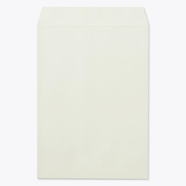 封筒 パステルカラー封筒 角3 パステル グレー 100g ヨコ貼 枠なし 1000枚 kr0336
