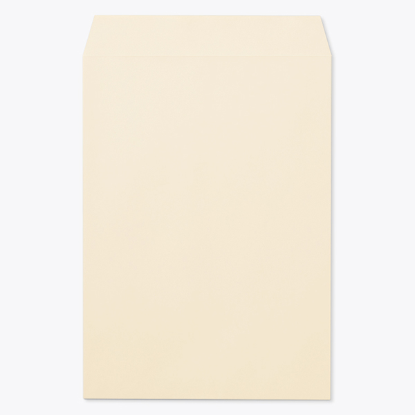 封筒 パステルカラー封筒 角1 パステル ベージュ 100g センター貼 枠なし 1000枚 kp0134