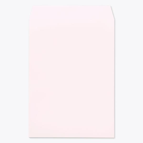 封筒 パステルカラー封筒 角2 パステル ウスクリーム 100g ヨコ貼 枠なし 1000枚 kr0242