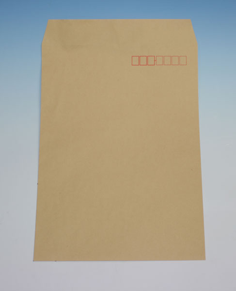 封筒 クラフト封筒 角2 テープスチック クラフト 85g ヨコ貼 枠入 1000枚 ka5204