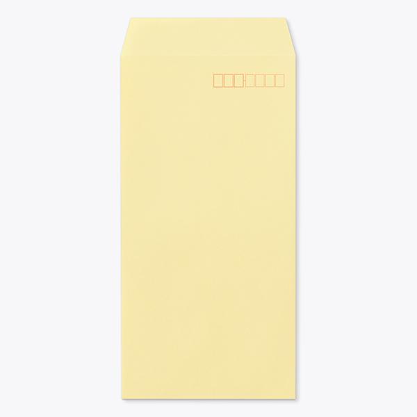封筒 クラフトカラー封筒 長3 森林認証 クリーム 85g ヨコ貼 枠入 1000枚 ng0331:伝票印刷製本のコンビニ