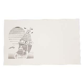 オリジナル 4号 切り絵名刺 50枚入 名刺 4号 50枚 正規逆輸入品 切リ絵 帆船 紙の販売です 切り絵 名入れ 印刷なし A2