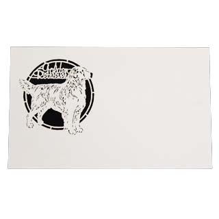 有名な 4号 切り絵名刺 高額売筋 50枚入 名刺 4号 50枚 切リ絵 印刷なし イヌ 切り絵 名入れ D4 紙の販売です