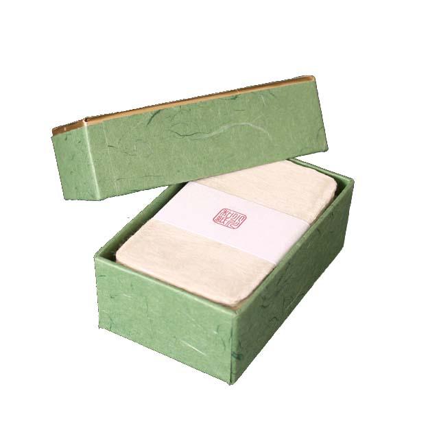 名刺 小川和紙 耳付名刺 100枚 / 箱 【 名入れ 印刷なし 紙の販売です 】 【 4号 高級和紙 】