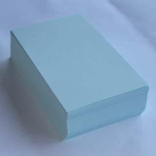 名刺 10面付 220枚 EC105 ブルー 【 名入れ 印刷なし 紙の販売です 】【10面付け( A4 サイズ ) スタンダード 220枚 】こちらの商品は切り取りミシン加工がありません。