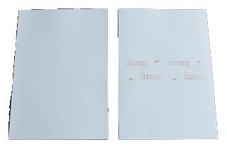 はがき 4面付(クワエ付) No.4062 アート紙 片面 Fタイプ