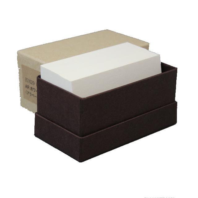 4 号 kappan 名刺 ☆国内最安値に挑戦☆ 4号 ARホワイト 名入れ印刷なし 箱 枚 100 往復送料無料 紙の販売です 活版印刷用