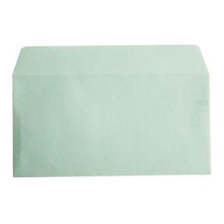 封筒 パステルカラー封筒 カマス貼 洋長3 パステル グリーン 100g ハイシール 枠なし 1000枚 yr3933