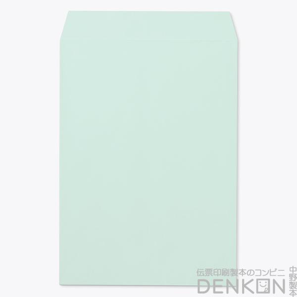 封筒 角2 ECグリーン テープ付 ( スラット ) ( 紙厚 : 100 )( 郵便番号の枠:なし )( スミ貼 ) 500枚