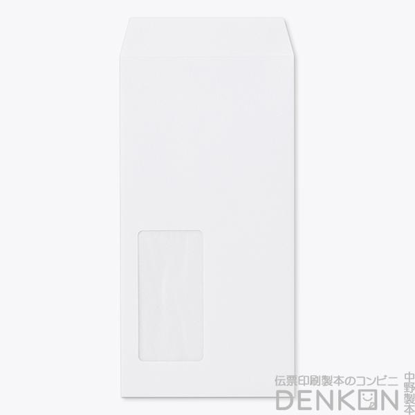 封筒 長3ケントグラシン紙窓サイズ:45×90( 紙厚 : 100 )( 枠:なし )( 白色度(%): 87 )( 中貼 ) 1000枚