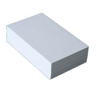 名刺 20面付 [100枚入] 植林木ホワイト【名入れ印刷なし 紙の販売です】【20面付け エシカル製品】こちらの商品は切り取りミシン加工がありません。