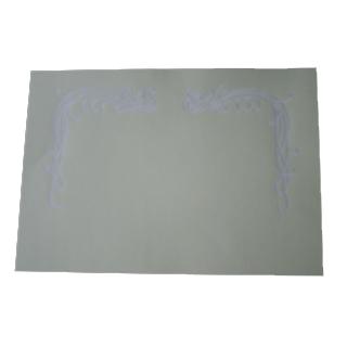 賞状用紙 A3ワイド 和紙手漉 漉込鳳凰 横長 H
