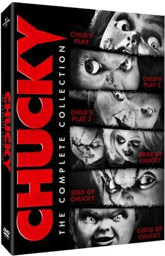 チャイルド・プレイ 全6作 コンプリート Chucky: The Complete Collection!DVD (630分収録 北米版) 【輸入品】