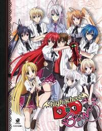 ハイスクールD×D BorN 限定盤 BD+DVD combo (全12話 300分収録 北米版) Blu-ray ブルーレイ DVD【輸入品】