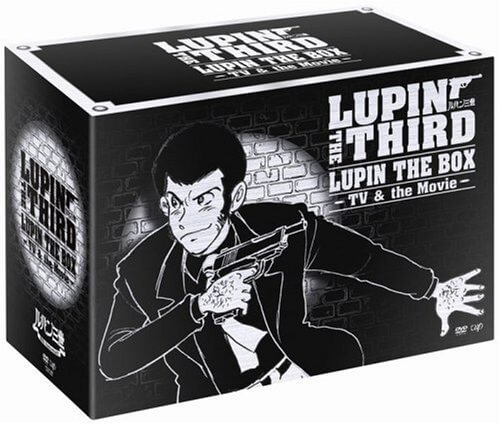 【中古・良】LUPIN THE BOX -TV&the Movie- [DVD]