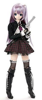 ブラックレイヴンシリーズ ルルナ シューティング トゥー ジ アビス~彷徨える魂~ 髪色:ラディアントパープル