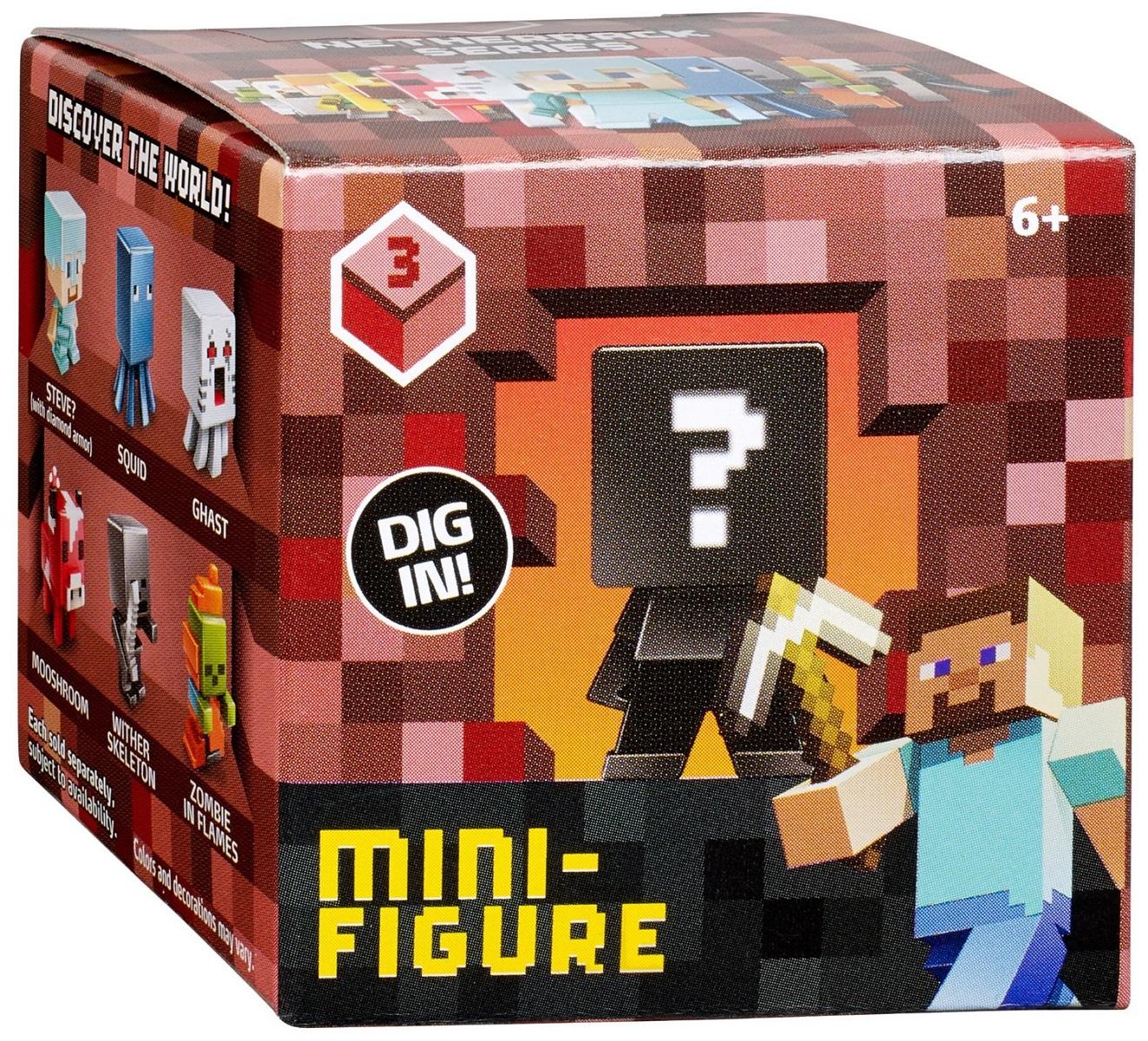 Minecraft マインクラフトコレクティブルフィギュアミステリーボックス2|なかのふぁくとりー 楽天市場店