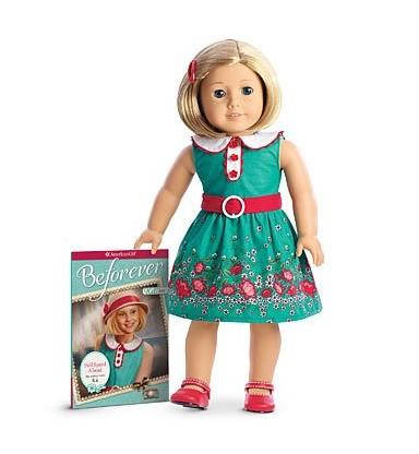 アメリカンガール ドール キット ブック American Girl - Beforever Kit Doll & Paperback Book