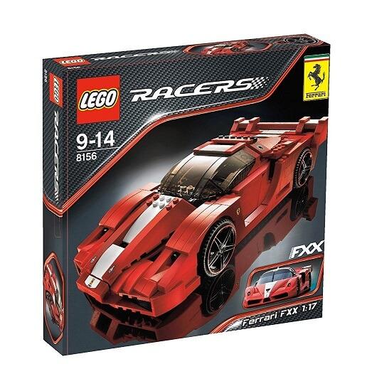 レゴ (LEGO) レーサー フェラーリFXX 1:17 8156【平行輸入品】