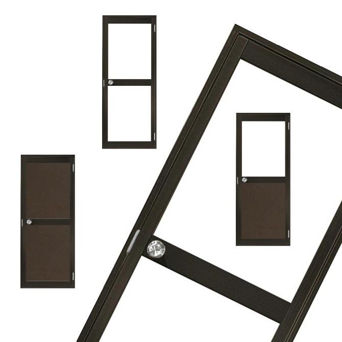 アルミドア(カマチドア)建具 扉事務所 店舗 倉庫 住宅に定番多用途多目的ドア。室内の間仕切り コンテナ ユニットハウス 仮設ドア DIY 取り付け可能屋外 屋内 内装 外装 路地 ブロック塀などで!|室内ドア リフォーム 建材 ブラウン ブラック 黒 ホワイト 白