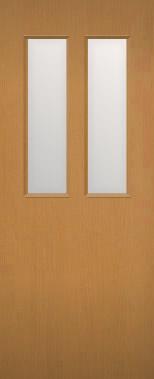 木製建具 室内ドア NR-12 上半面ガラス組込み 【認証】