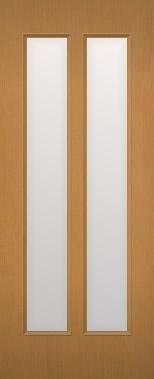 室内ドアのサイズ・カラー・デザインがこの価格でオーダー出来る。世界に1枚の建具をお届け 木製建具 室内ドア NR-24 全面ガラス組込み 【認証】