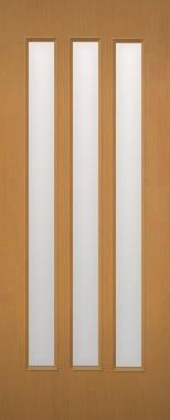 木製建具 室内ドア 建具 NR-28HQ【リフォームドア】【取替建具 取替ドア】【3本ガラススリッド】【ドアオーダー】【特注ドア】【リビングドア】【間仕切戸】【開き戸】【引き戸】【DIYドア】【フラッシュドア】 【承認】