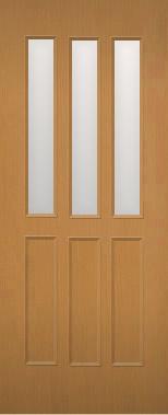 木製建具 室内ドア NR-54HQ【リフォームドア】【取替建具】【取替ドア】【上半面ガラス組込】【ドアオーダー】【特注ドア】【リビングドア】【間仕切戸】【戸】【開き戸】【引き戸】【DIYドア】【フラッシュドア】 【承認】