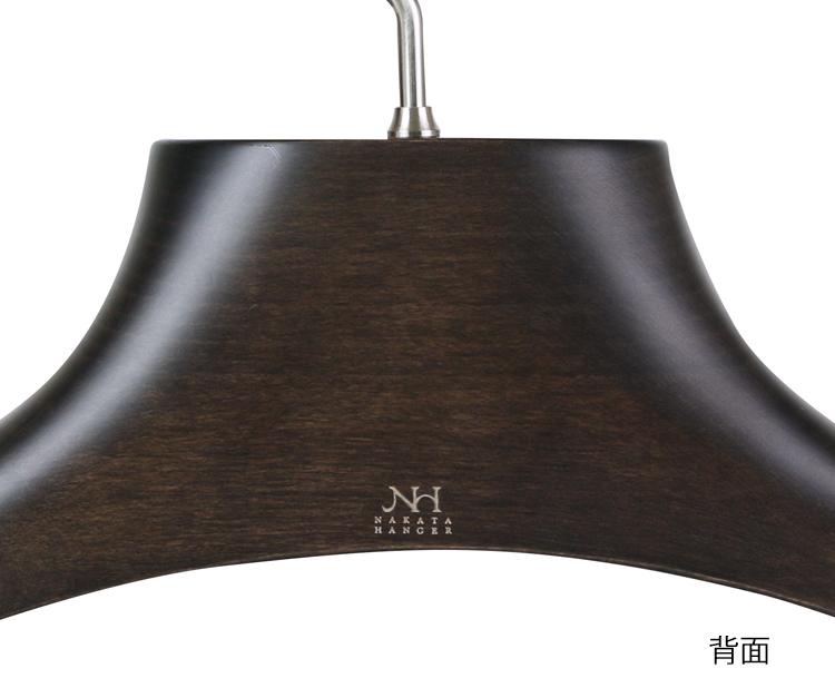 NH-2/ wooden men jacket hanger / smoke brown