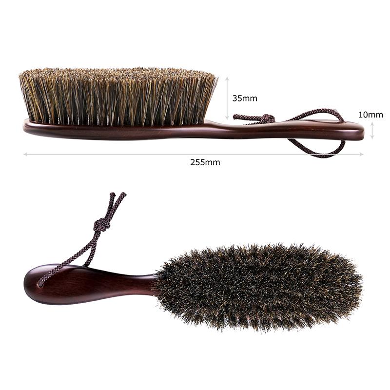 Clothes Brush Horse Hair/ Mars brown