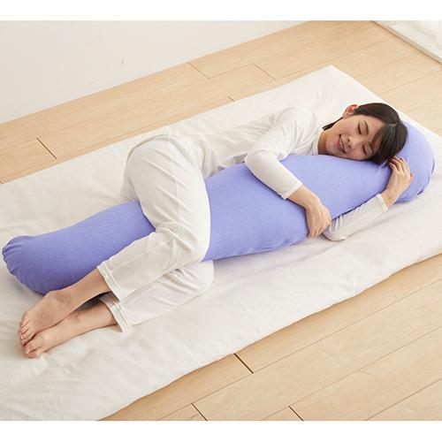 快適抱き枕ロング「Feel」 抱き枕 まくら 適温 快眠 安眠 大きい サイズ 冷感