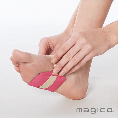 柔らか磁気で足のコリを緩和するマジコ magico 中山式 中古 足 めぐり 血行 在庫処分 医療機器 マグソール2個入 1足組 温め 冷え性 マジコ