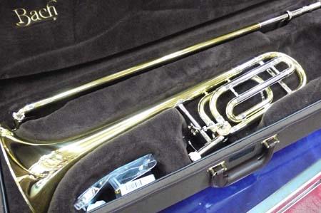 テナーバストロンボーン イエローベル V.Bach トラディショナル 42B-GL 【調整後発送・送料無料】 「 」 バック
