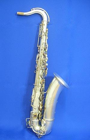 【ヴィンテージ管楽器】アドルフ・サックス テナーサックス銀メッキ Adolphe Sax(息子)ネック複製品1907~1928年製【調整後発送】【送料無料】【中古/ヴィンテージ】