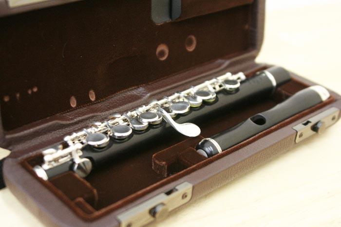 中古管楽器 ピッコロ フルートマスターズ#0 全タンポ交換済み 中古 プレゼント 送料無料 美品