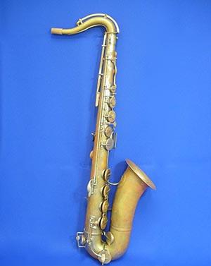 【ヴィンテージ管楽器】アドルフ・サックス テナーサックスノーラッカー Adolphe Sax(父)1864年製【調整後発送】【送料無料】【中古/ヴィンテージ】