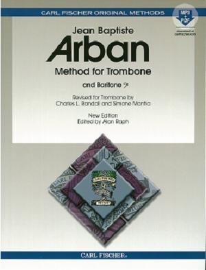 [トロンボーン教本] アーバン Arban`s Famous Method for Trombone出版:カールフィッシャー(CARL FISCHER)