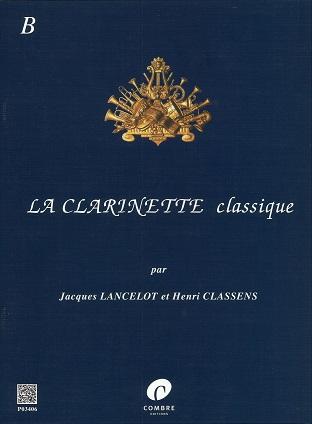 【クラリネットソロ】ランスロ クラリネット古典曲集 BCl+pf出版:COMBRE社