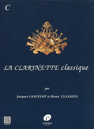 【クラリネットソロ】ランスロ クラリネット古典曲集 CCl+pf出版:COMBRE社