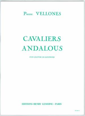 【サクソフォンアンサンブル】ヴェロンヌ アンダルシアの騎士 使用SAX=S.A. T.B出版:Lemoine社グレード:C 【追跡メール便OK】
