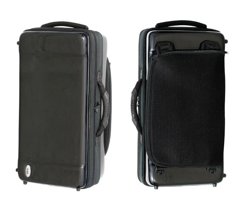 【ご予約】バッグス トランペット2本用ケース bags 軽量で丈夫なグラスファイバー【ブラック・レッド・フュージョンホワイト】【送料無料】