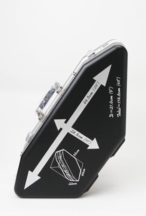 【在庫有り】サックス用 飛行機内持込みケース NONAKA スカイケース アルトサックス&ソプラノサックス用 【送料無料】