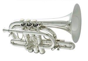 CAROL BRASS キャロルブラス C管ポケットトランペット N4000 SP銀メッキ仕上げ 【送料無料】