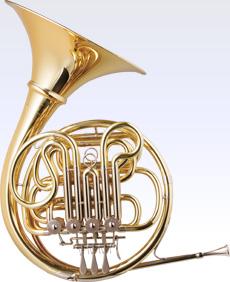【4/11限定・エントリーで全品P3倍】HansHoyer ハンスホイヤーフルダブル ホルン 801GAL ゴールドブラス