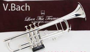 バック (V.Bach) トランペット 180ML 37/25SP トランペットの定番! 【送料無料】【新品 調整後発送】