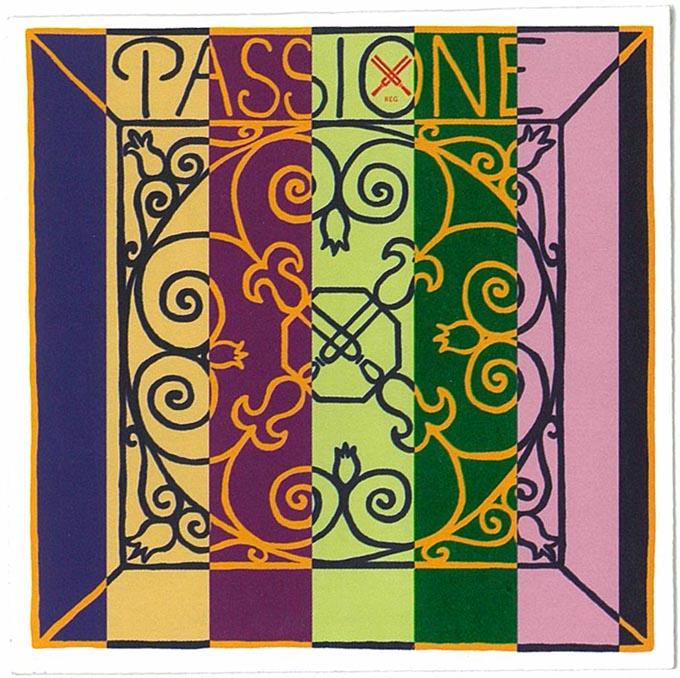 【送料無料】 バイオリン弦 1~4 セットピラストロ パッシオーネ PIRASTRO Paasione 【メール便OK】